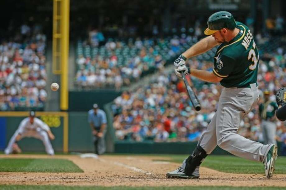 Brandon Moss   Wasn't expected to be a 2014 All-Star because: Teams didn't trust him.   His story: Didn't work out in Boston, Pittsburgh or Philadelphia. They kept trying to change his approach at the plate, and make him use all fields. The A's told him to be himself, that it was OK to be dead pull. Moss, a grip-it-and-rip-it connoisseur, took it from there. A platoon player at first. Now he plays every day, proving he can hit for average against lefties while most of his power is generated against righties. Photo: Otto Greule Jr, Getty Images