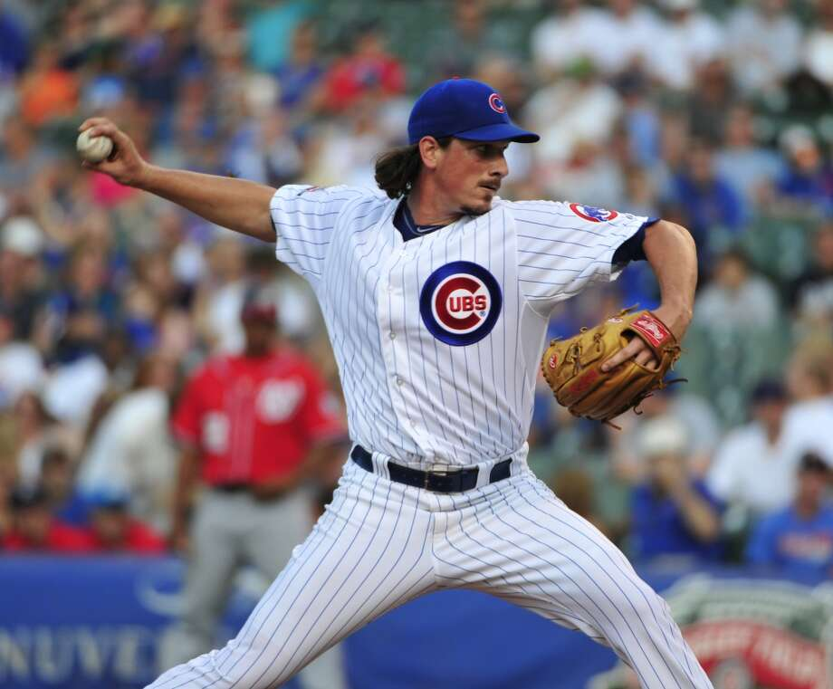 "His numbers: Combined Cubs-A's 1.138 WHIP lowest in his career. Went 0-4 in his first 10 starts as a Cub despite a 1.46 ERA. Received two or fewer runs of support in 11 of 17 Cubs starts, including zero five times. Received a whopping three runs of support in first A's start.   His words: ""I'm right where I need to be, man. I'm excited. I've been begging for this for a while, situation-wise, where you come in excited to win games, being more worried about the game than which guys are going to be here in the future."" Photo: David Banks, Getty Images"