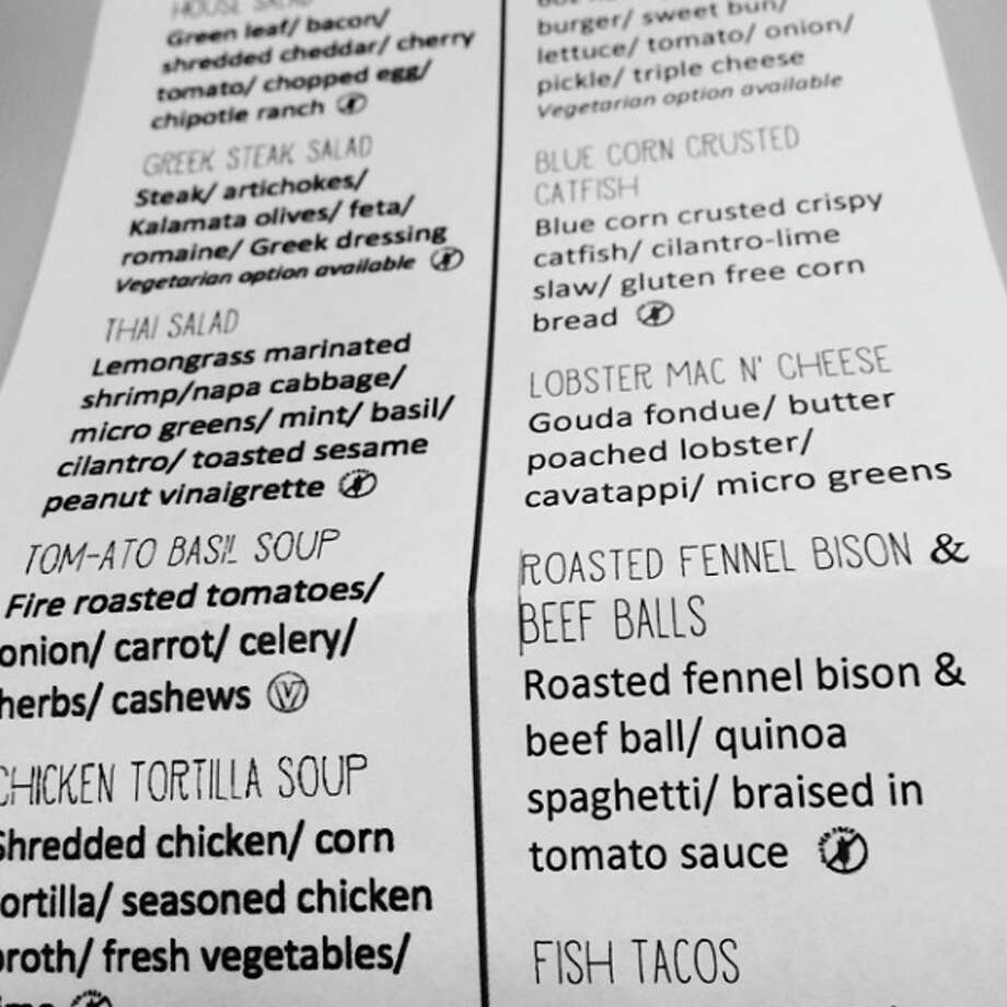 A little preview of Green Light Kitchen's forthcoming menu. Photo via @thecatfive on Instagram