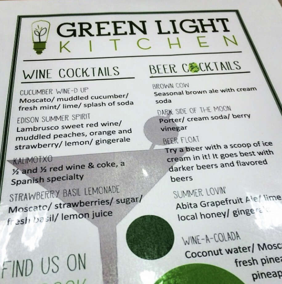 A little preview of Green Light Kitchen's forthcoming drink menu. Photo via @thecatfive on Instagram