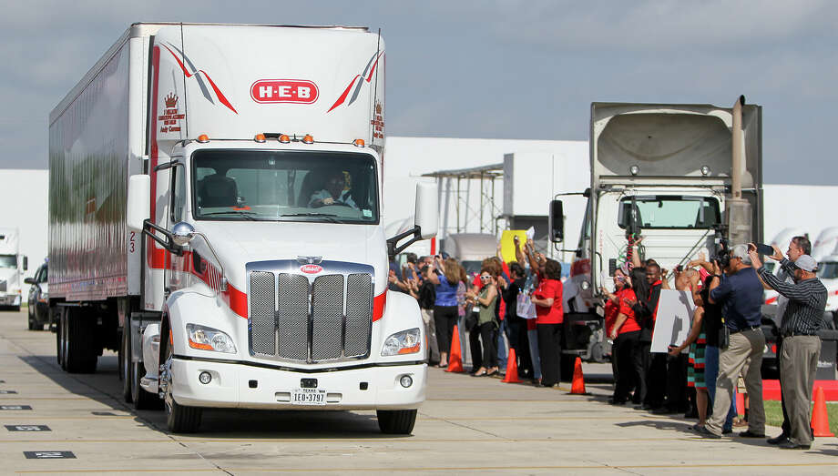 H-E-B will be interviewing truck driver candidates at a job fair this Friday at the Houston Community College Northeast Campus, 555 Community College Dr. >>> Things you didn't know about H-E-B Photo: MARVIN PFEIFFER, Marvin Pfeiffer / EN Communities / EN Communities 2014