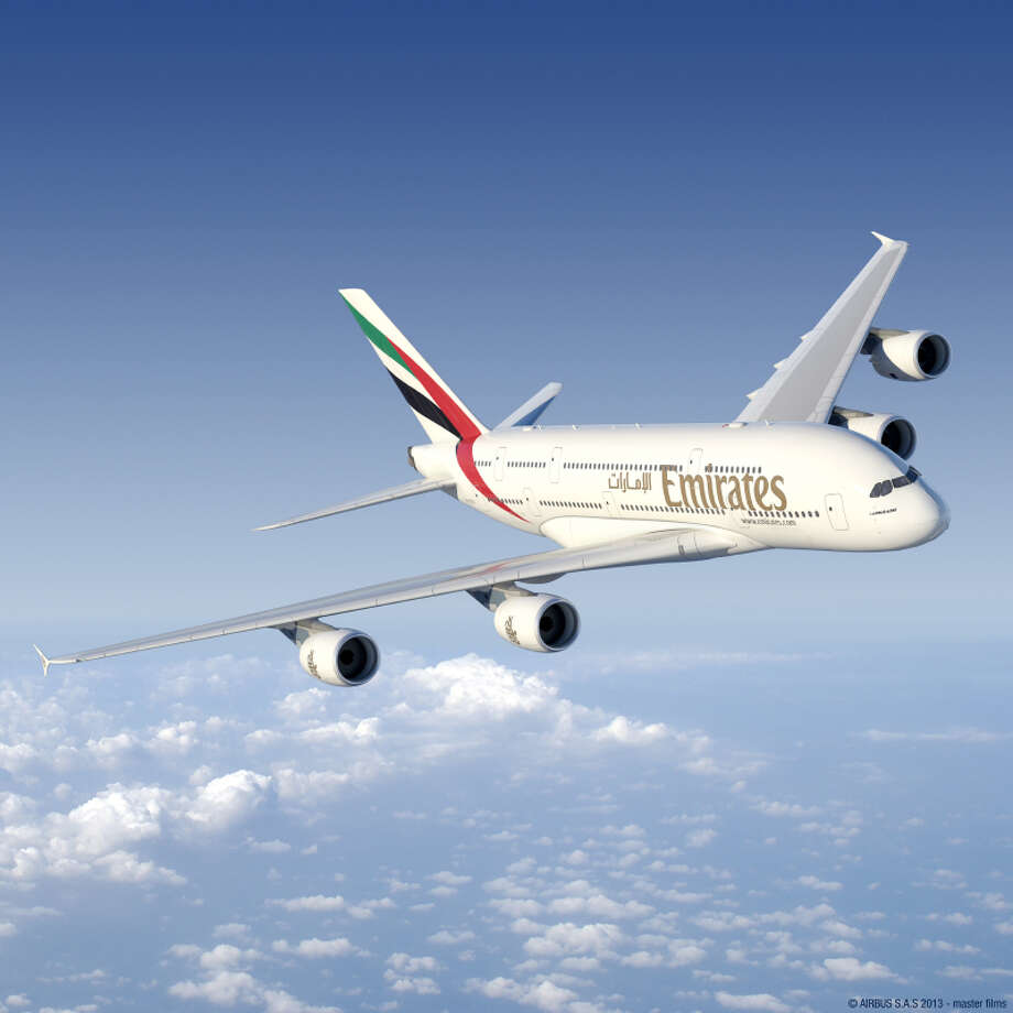Emirates' Houston to Dubai flights will be operated by the Airbus A380 instead of the Boeing 777-300ER beginning in December 2014.