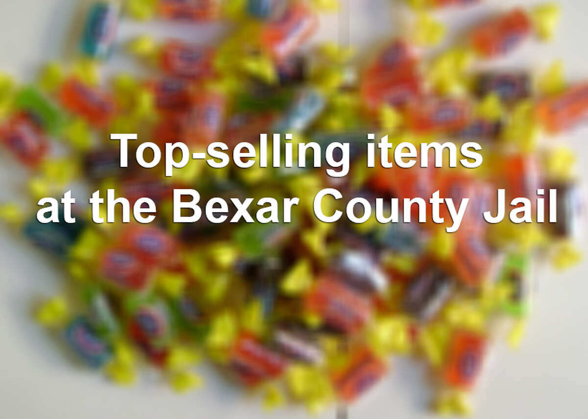 Here are some of the top-selling items at the Bexar County Jail from Jan. 1, 2013 to May 6, 2014, based on records obtained by the San Antonio Express-News. A full list of the items, prices and amount sold can be found here.