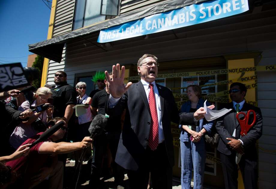 "Seattle City Attorney Pete Holmes, racing from thing to thing, he says, brought an ""unopened"" package of marijuana into city offices on the first day of pot sales in Seattle (July 8, 2014) ... and that was a mistake. What he said in a news release: ""The City of Seattle is a 'drug-free workplace' under federal law ...  So what is the rule when ""City business"" includes successful drug policy reform – specifically, transition from prohibition to a fully legal, regulated and taxed marijuana supply system? I was elected to drive such reform, and to eradicate the illegal marijuana market. I intended my public purchase at Seattle's first legal store to bolster the transition.  ""The workplace rule has not changed, however. When I brought the unopened marijuana to City offices – trying to keep up with a busy schedule -- I nonetheless violated the City's rules. At the end of the business day, I took the marijuana home and left it there, still unopened, before I participated in the second Community Walk of the Mayor's Summer of Safety.  ""I have discussed the violation with the City Personnel Department director, and I have volunteered to donate $3,000 to the Downtown Emergency Service Center. I apologize to my employees, all City employees and to the public."""