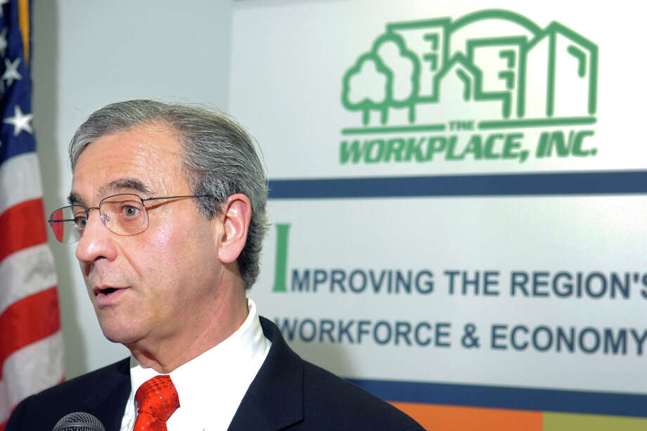 Joseph Carbone, president and CEO of The Workplace, Inc. in Bridgeport, appears in this file photo. Photo: Ned Gerard / Connecticut Post