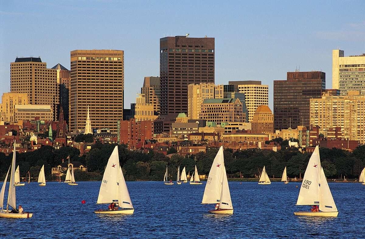 Boston, Massachusetts Summer temperature in 2014: 78.98 F Summer temperature in 2100: 89.11 F