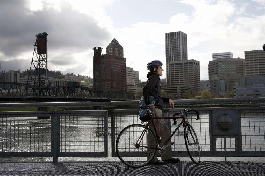 Portland, OregonSummer temperature in 2014:77.74 F  Summer temperature in 2100: 87.75 F Photo: Kim Carson, Getty Images