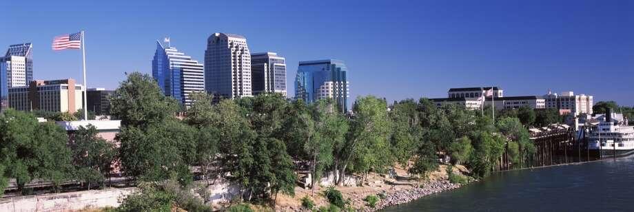 Sacramento, California     Summer temperature in 2014: 91.54 F  Summer temperature in 2100: 99.63 F Photo: Panoramic Images, Getty Images/Panoramic Images