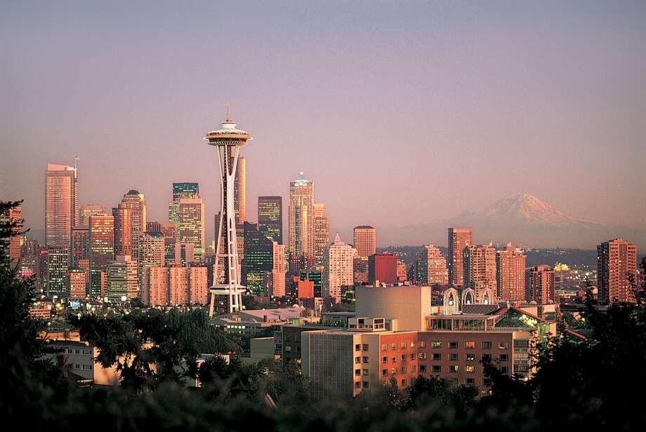 Seattle, Washington  Summer temperature in 2014: 73.0 F  Summer temperature in 2100: 83.75 F Photo: Getty Images