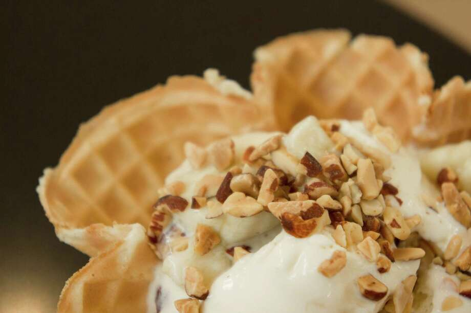Nuts are tops in toppings for 38 percent of ice cream lovers. Photo: Fotolia / simplificity - Fotolia