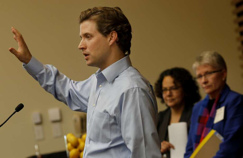 Alec Ross, former adviser for Hillary Rodham Clinton, said he hopes tech investors will seek more opportunity in developing markets - not just China and India. Photo: Brant Ward, The Chronicle