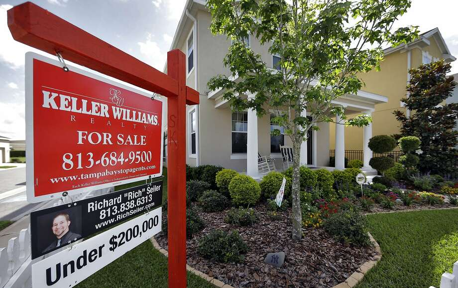 This May 14, 2014 photo shows a new home for sale in the Winthrop subdivision in Riverview, Fla. Freddie Mac reports on average U.S. mortgage rates for this week on Thursday, June 5, 2014. (AP Photo/Chris O'Meara) Photo: Chris O'Meara, Associated Press