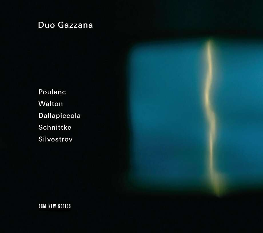 CD Cover: Duo Gazzana Photo: ECM New Series