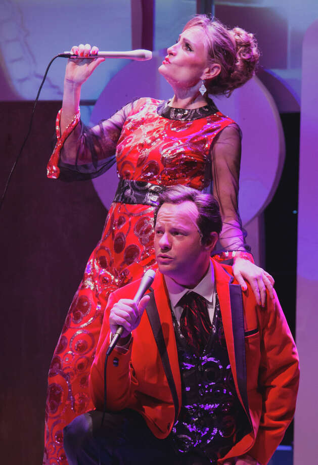 """David Wald and Susan Koozin star in """"Pete 'n' Keely"""" at Stages Repertory Theatre. Photo: Bruce Bennett / All Rights 2012 & beyond.713-863-8664"""
