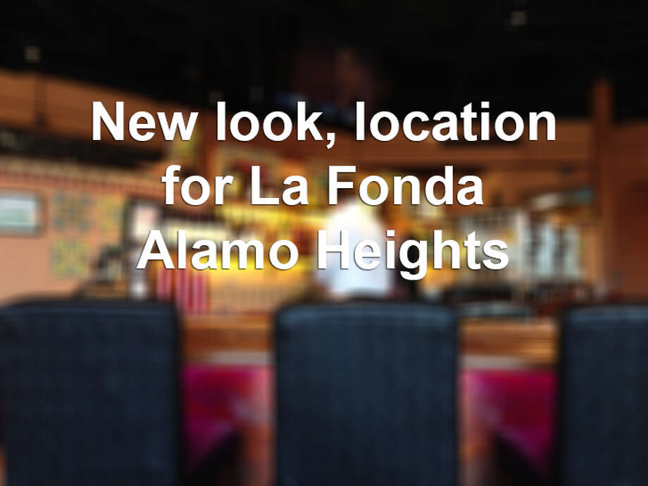 If you get to the new location of La Fonda Alamo Heights, 8633 Crownhill Blvd., has been completely renovated. The new spot looks nothing like the former occupant, Raffles bar, or the old La Fonda Alamo Heights, 6402 N. New Braunfels. Photo: Edmund Tijerina, San Antonio Express-News