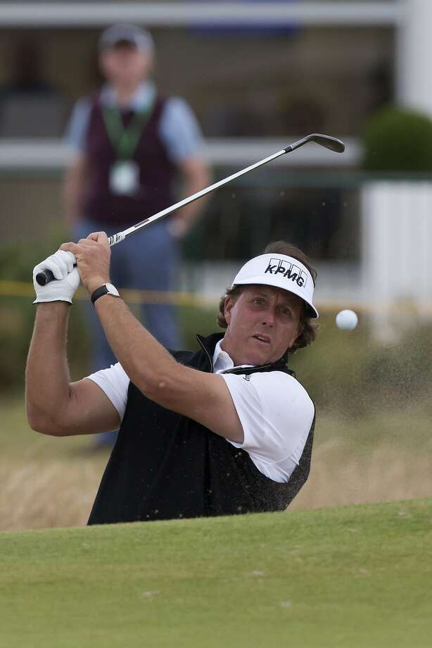 Phil Mickelson's lone top 10 on the PGA Tour last year was at The Barclays. Photo: Jon Super, Associated Press