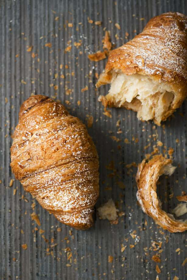 Almond croissants from Companion Bakeshop are seen on March 17, 2014 in Santa Cruz, Calif. Photo: Angela Aurelio, Special To The Chronicle