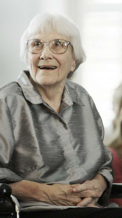 Harper Lee in 2007. Photo: Rob Carr, Associated Press