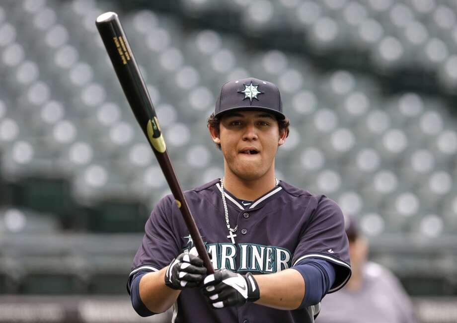 Bonus: Alex JacksonAge: 18 | Outfield | AZL Mariners (Rookie)2014 stats: 15 games, .322 average, one home run, 12 RBIsThe M's first-round pick last month has only played in a few games since he signed his rookie contract, but he's off to a torrid start with five doubles and a .899 OPS in rookie ball. Photo: Elaine Thompson, Associated Press