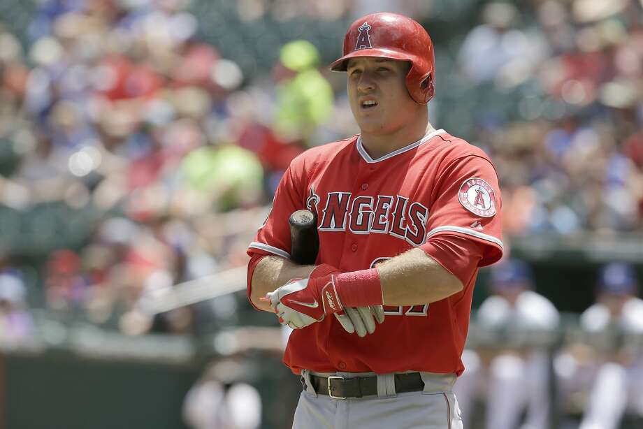 The Angels' Mike Trout has 79 homers since the start of the 2012 season. Photo: LM Otero, Associated Press