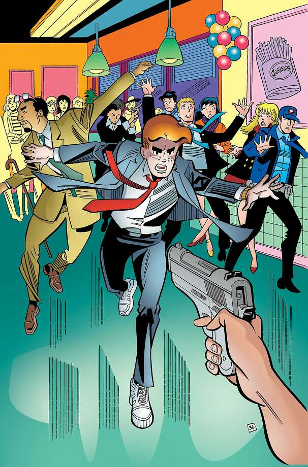 Venerable comic book hero Archie dies taking  an assassin's bullet aimed at his gay best friend. Photo: Associated Press