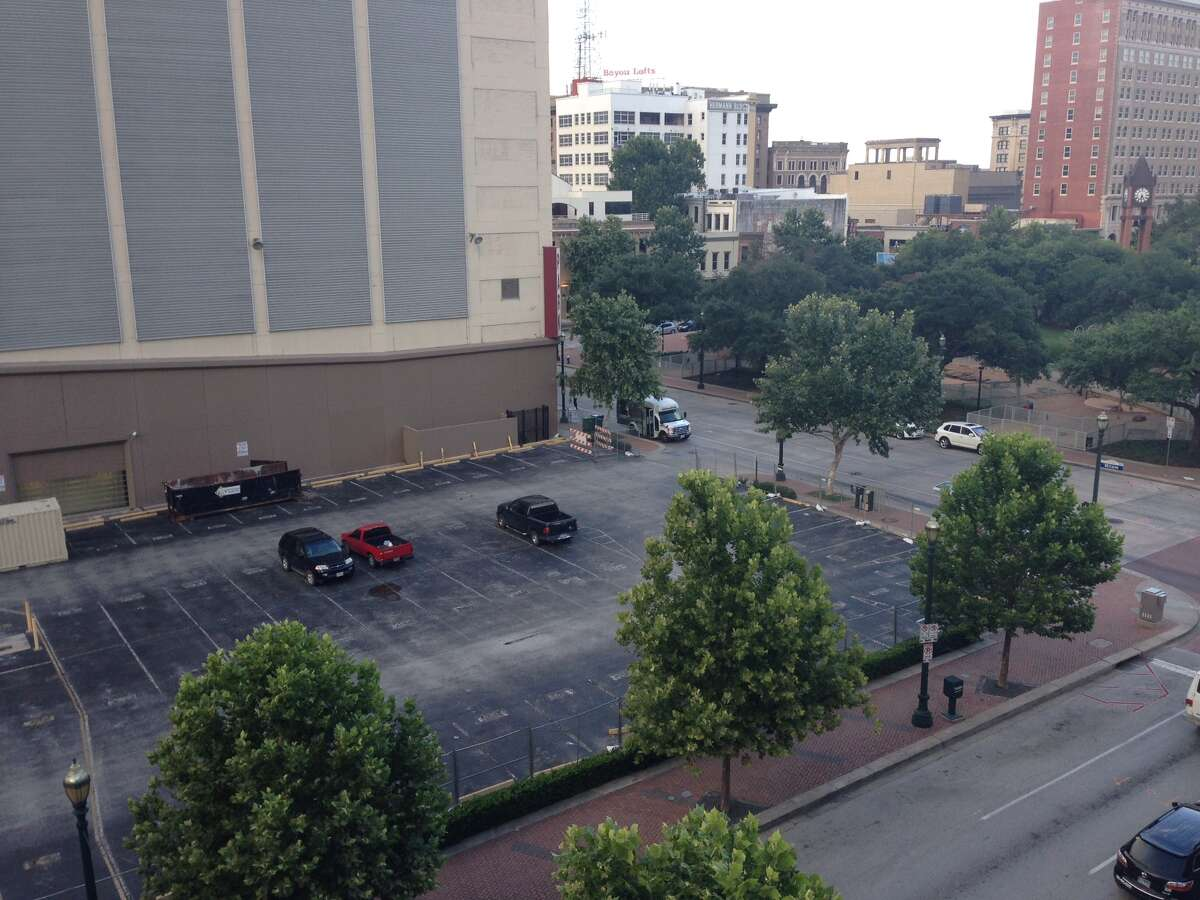 A 40-story downtown tower, to be called Market Square Tower, will be built just off Market Square Park (right).