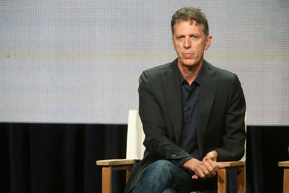 "Executive producer Tim Kring talks about ""Dig"" at the summer TV critics press tour in Beverly Hills. Photo: Frederick M. Brown, Getty Images"