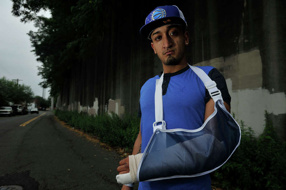 Domingo Ramos was one of the five victims from Sunday morning's shooting in Columbus Park in Stamford, Conn. Photographed on Monday, July 14, 2014. Photo: Jason Rearick / Stamford Advocate