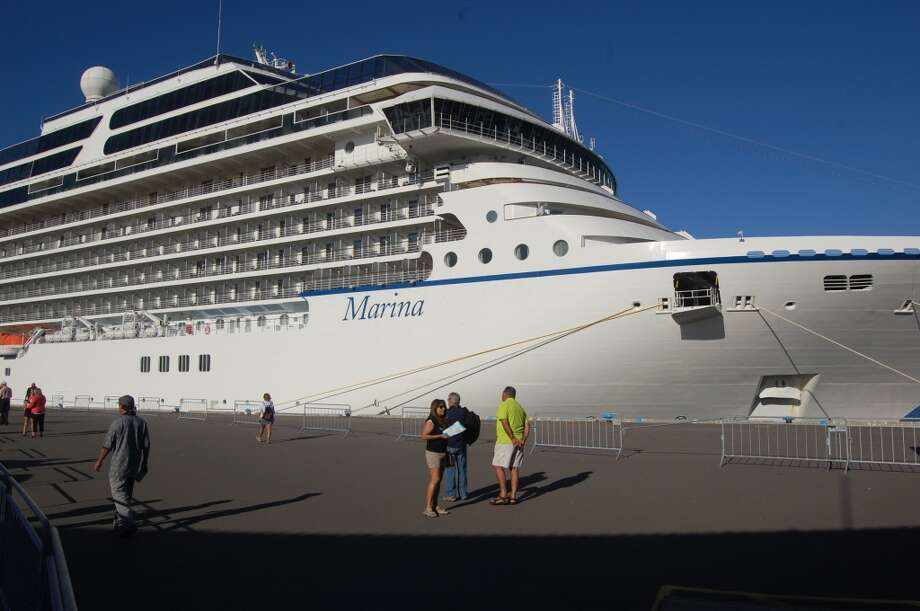 The sleek Marina is one of five comfortable mid-sized ships in the Oceania Cruises fleet that calls at ports around the world. Photo: Bob McCullough, For The Express-News