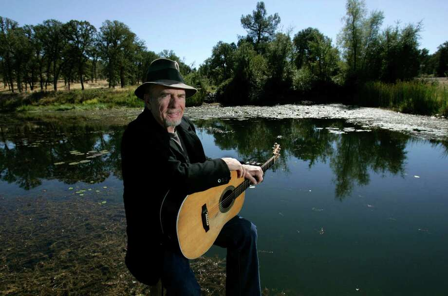 Merle Haggard is photographed at his ranch at Palo Cedro, Calif. in 2007.  Photo: ASSOCIATED PRESS / AP2007