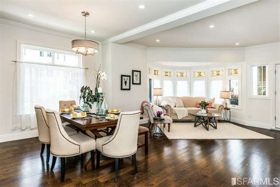 Another shot of the new living room/entertaining space. Photo: MLS