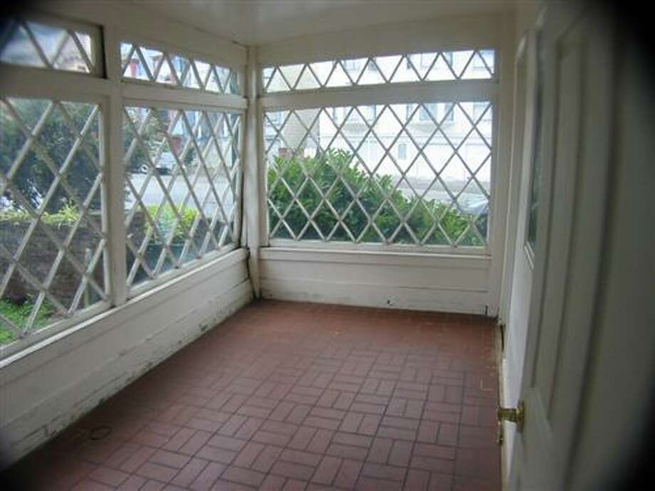 The room used to have charming period windows. Photo: MLS