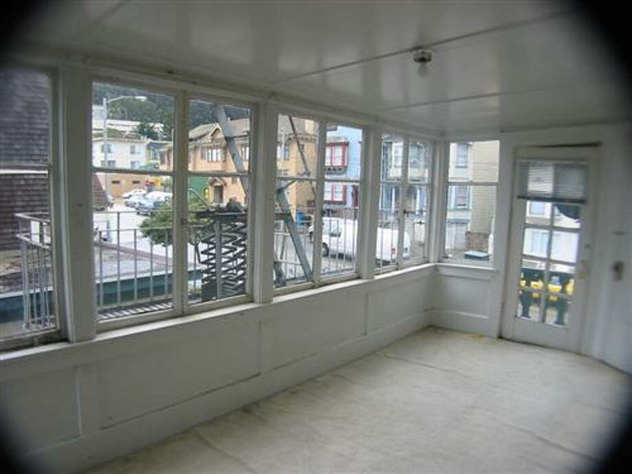 Another sun room that was altered during the renovations. Photo: MLS
