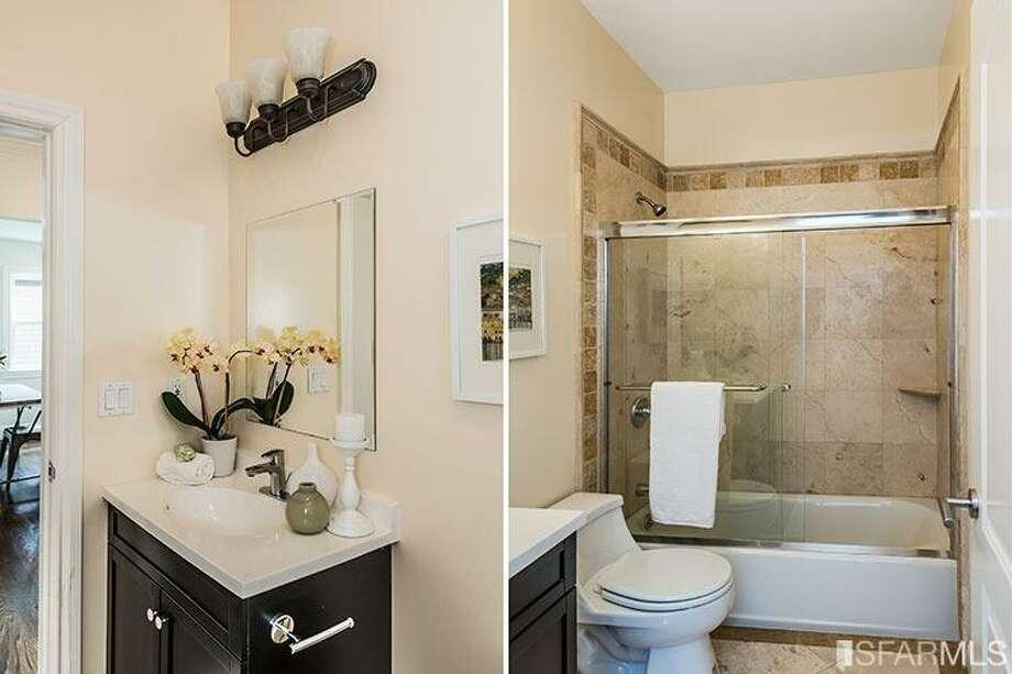 The new bathrooms. Photo: MLS