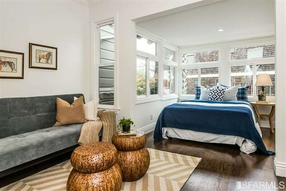 Of the five bedrooms, three are on the same level. Photo: MLS