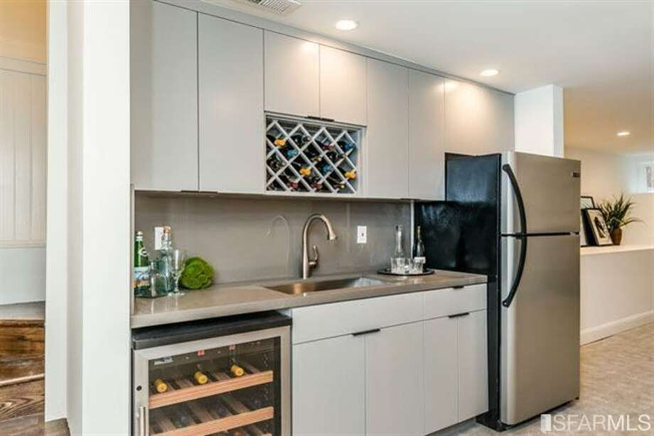 The new downstairs kitchenette. Photo: MLS