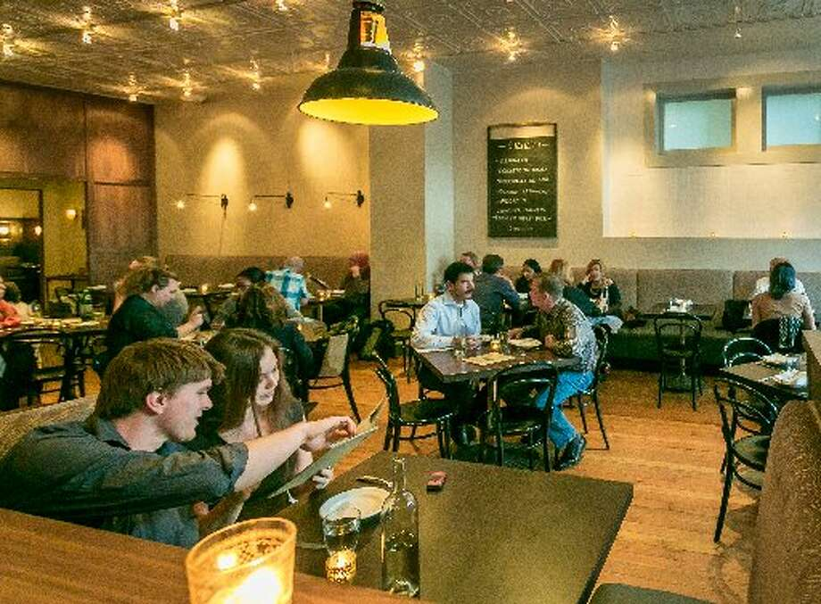 Pesce:    Last year this restaurant moved from Polk to Market Street, but they fortunately brought along the recipe for the cioppino. The restaurant specializes in Venetian seafood, and the rich cioppino, where the tomato sauce is given depth with saffron, bridges both cultures. www.pescebarsf.com Photo: John Storey, Special To The Chronicle 2013