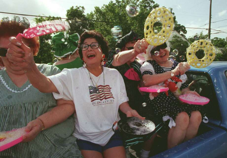 Riding in a pickup bed