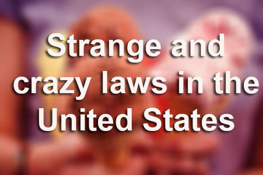 You won't believe some of the crazy laws in the United States. Here is a list of funny, silly, stupid laws that were once in effect and may still be, according to dumblaws.com. Source: dumblaws.com