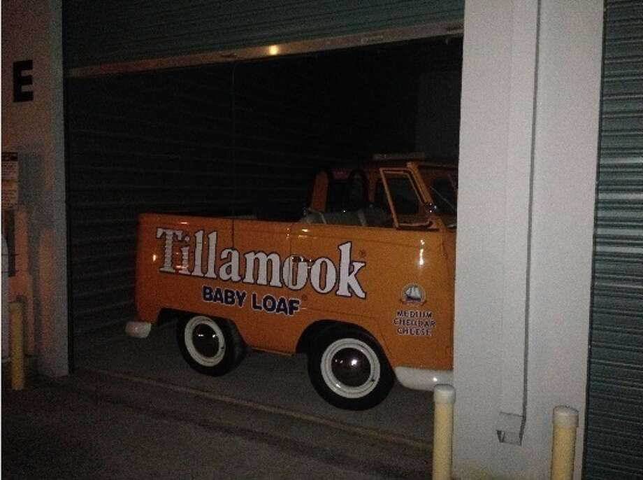 Authorrecovered three stolen Volkswagen microbuses  that were stolen while a marketing trip to Sacramento from Tillamook Cheese company in Oregon. Photo: Manteca Police