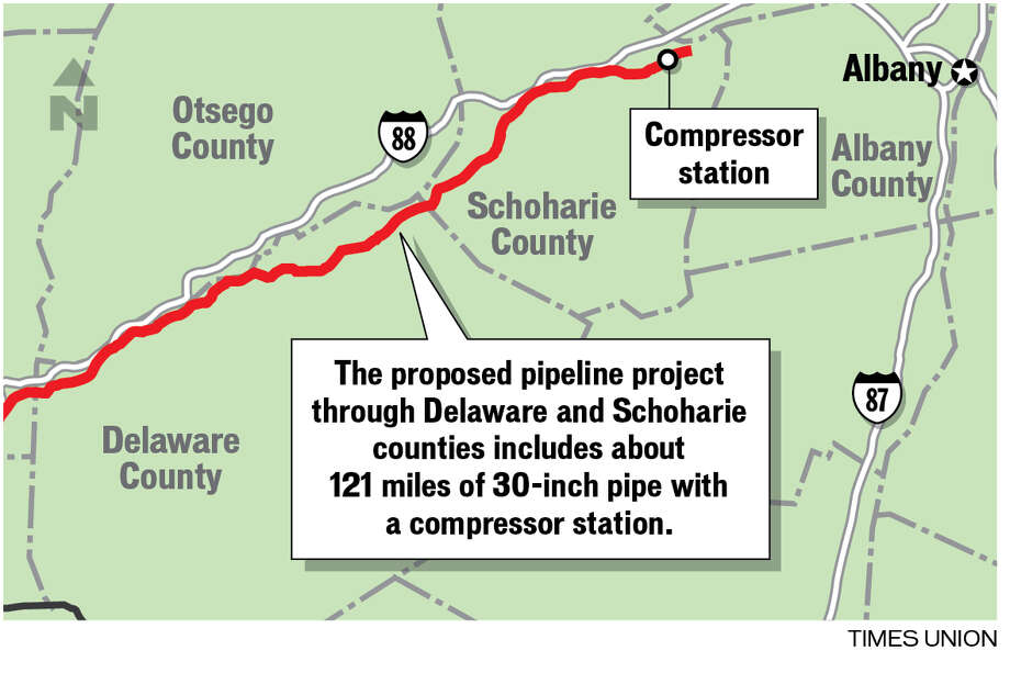 Proposed pipeline project.