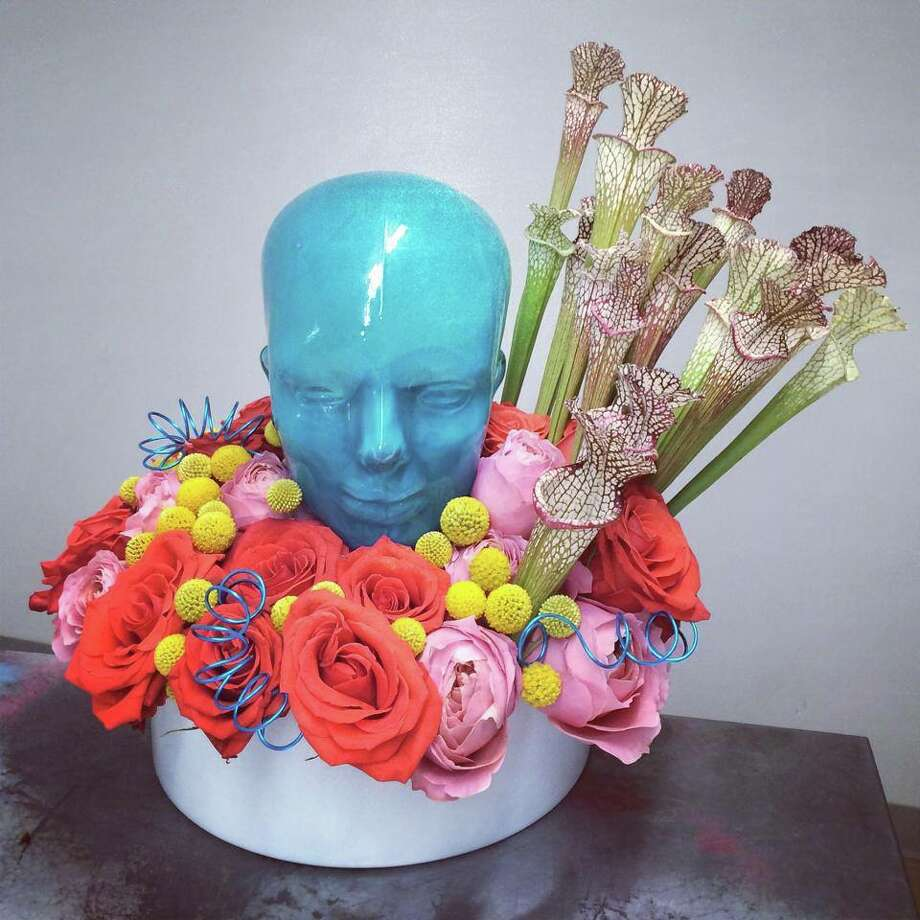 The arrangement sent to Lady Gaga by David Garcia of Statue of Design. Photo: David Garcia, Courtesy Photo