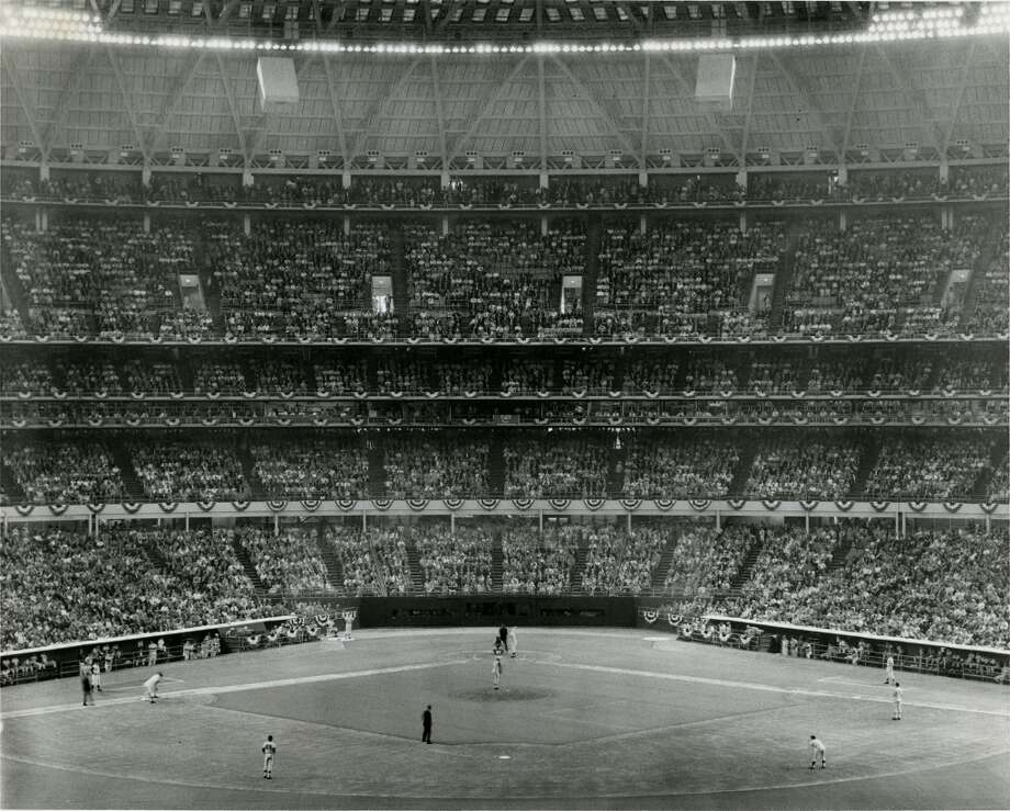 Astrodome - 1968 Major League Baseball All-Star Game Photo: Gulf Photo