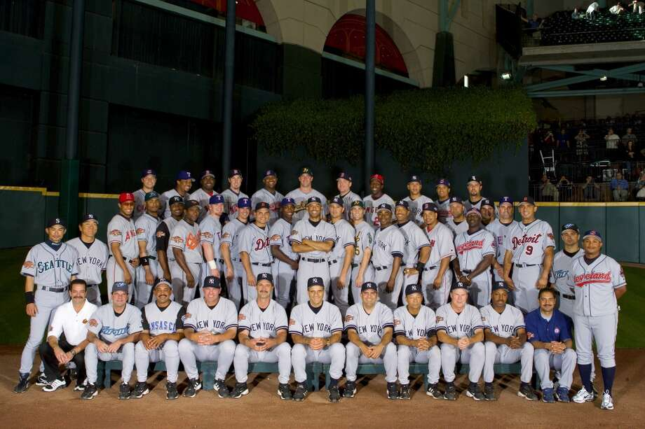 American League All-Star team poses for a photo prior to the Major League Baseball All-Star Game at Minute Maid Park. Photo: MLB Photos, MLB Photos Via Getty Images