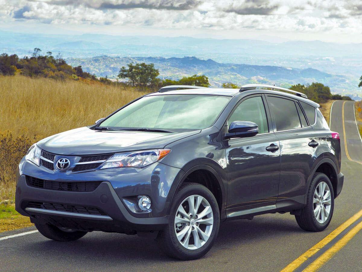 1. Toyota RAV4 Average 5-year depreciation: 41.3%