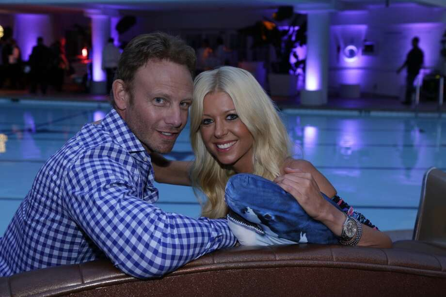 "NBCUNIVERSAL EVENTS -- NBCUniversal Press Tour, July 2014 -- ""Sharknado 2"" Screening Party -- Pictured: (l-r) Ian Ziering, Tara Reid -- (Photo by: Paul Drinkwater/NBC) Photo: NBC, Paul Drinkwater/NBC"