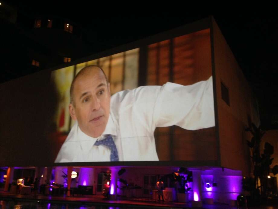 Even Matt Lauer joined the sequel. Photo: Jeanne Jakle