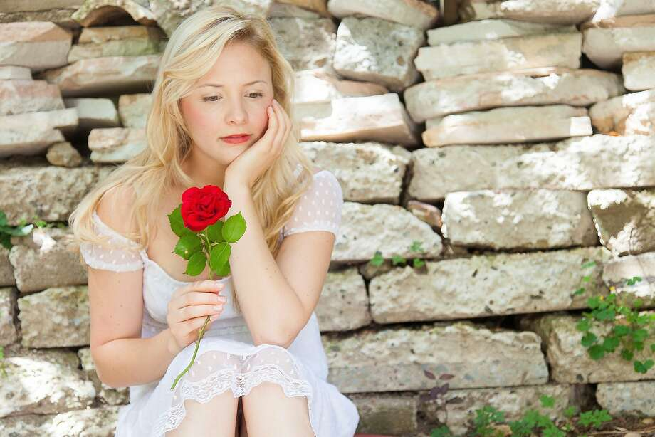 "Luisa Frasconi plays Juliet in Marin's ""Romeo and Juliet."" Photo: Steven Underwood"