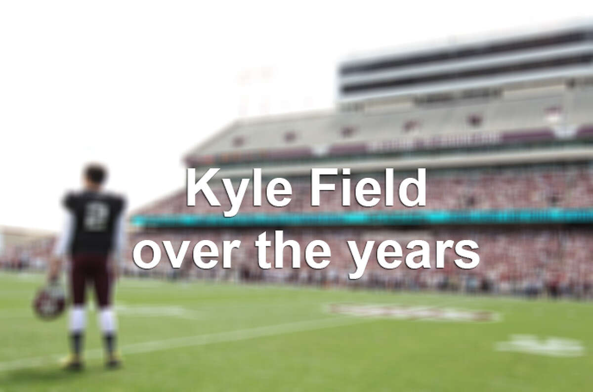 The Texas A&M Aggies' stadium, Kyle Field, is undergoing a $450 million renovation, set to be completed by the 2015 season. Here's a look back at the