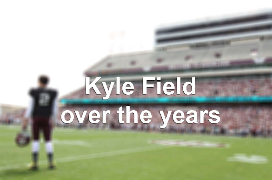 "The Texas A&M Aggies' stadium, Kyle Field, is undergoing a $450 million renovation, set to be completed by the 2015 season. Here's a look back at the ""Home of the 12th Man"" over the years, with the most recent photos first. Photo: Karen Warren, Karen Warren/Houston Chronicle / © 2013 Houston Chronicle"